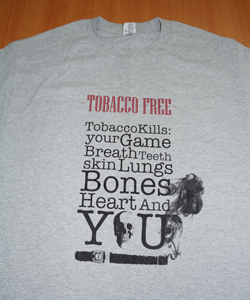 Anti-tobacco Shirt